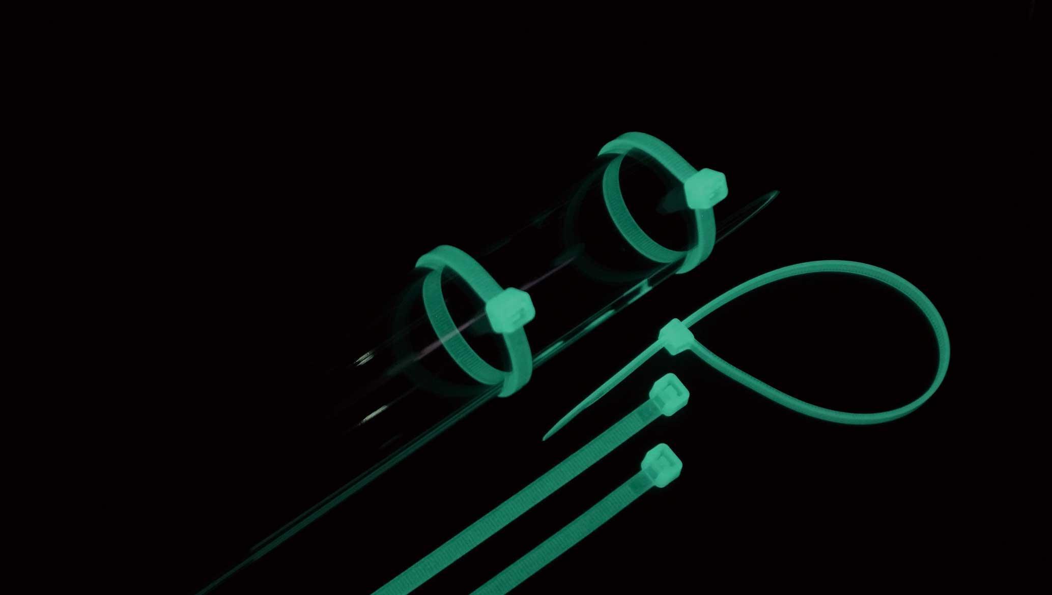 結束バンド | ケーブルタイ 蓄光タイプ (ポリプロピレン製)